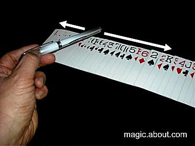 Dowsing for a Playing Card