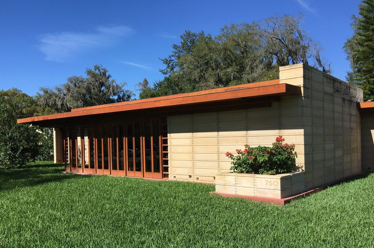 Usonian House at Florida Southern College, Lakeland, Florida