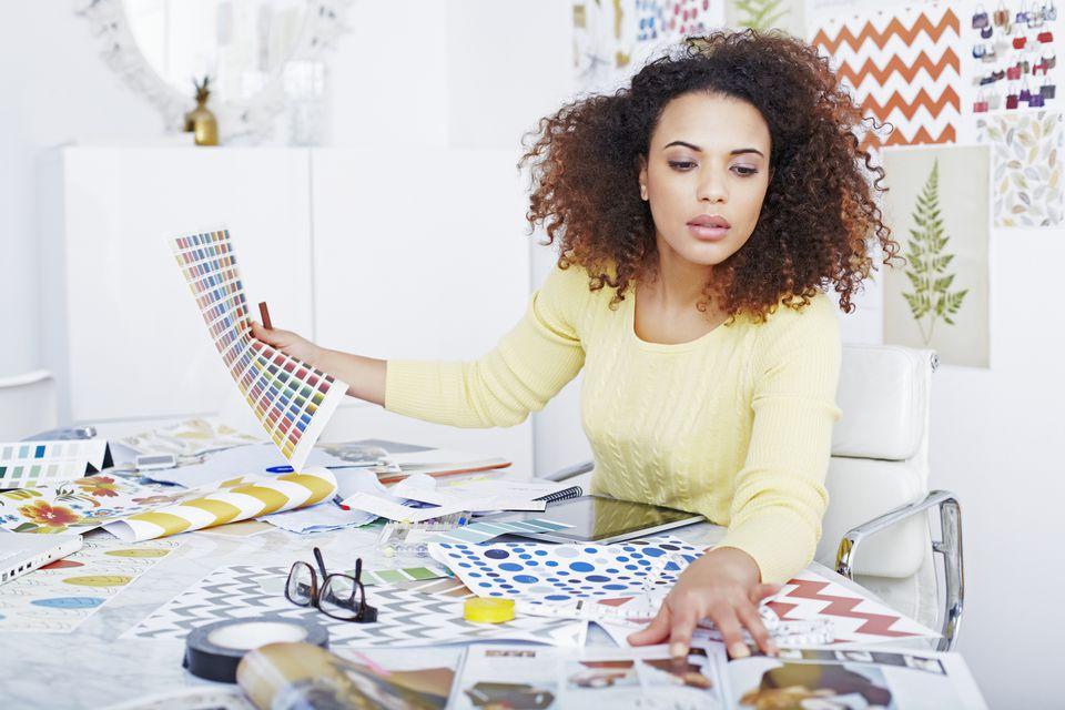Interior Designer at Work