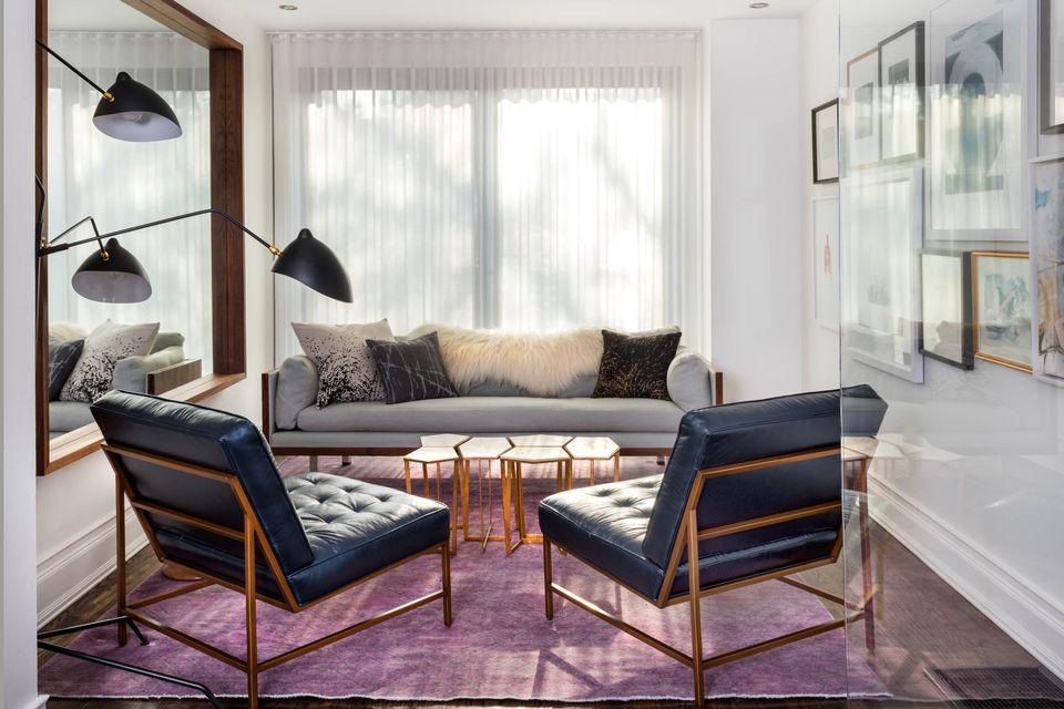 violet Turkish rug