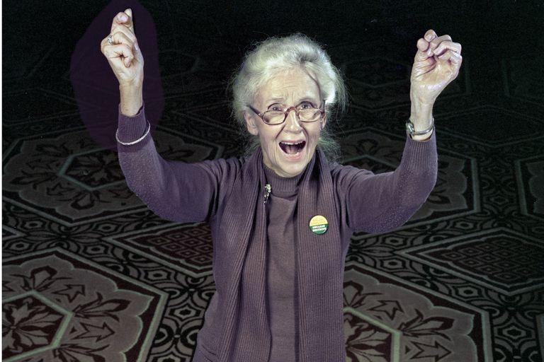 Maggie Kuhn in DC, 1981