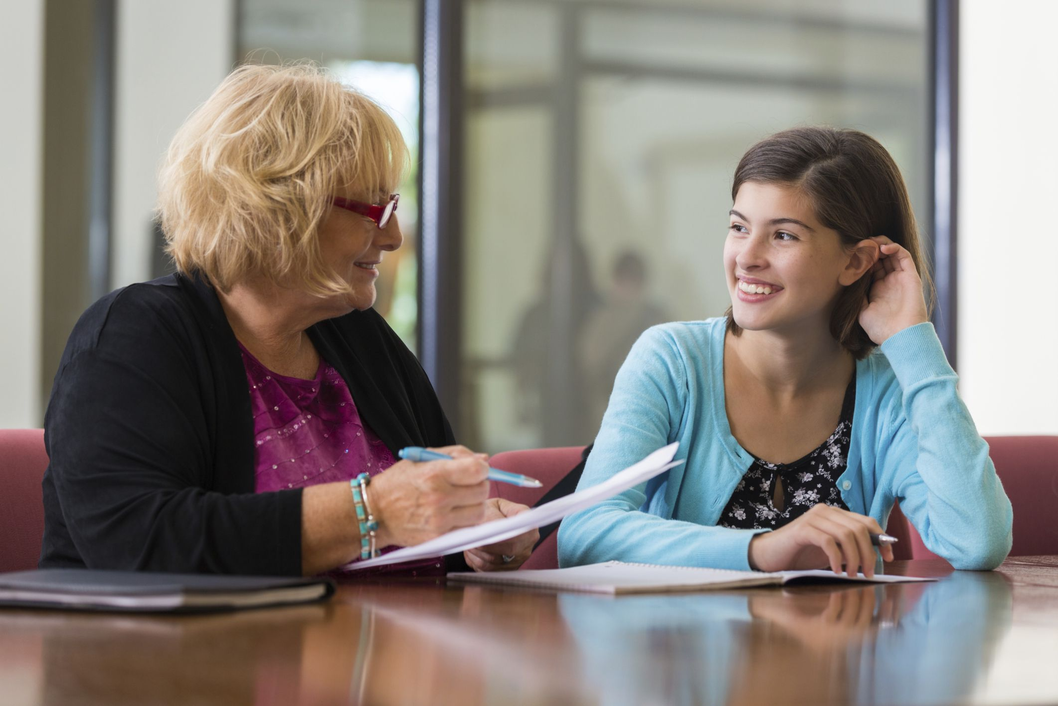 job search tips and advice for teens high school student and counselor