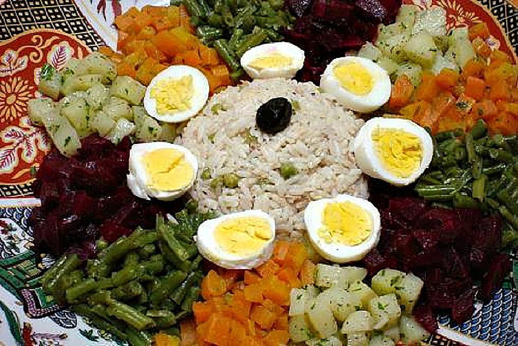 How To Make A Traditional Moroccan Salad Plate