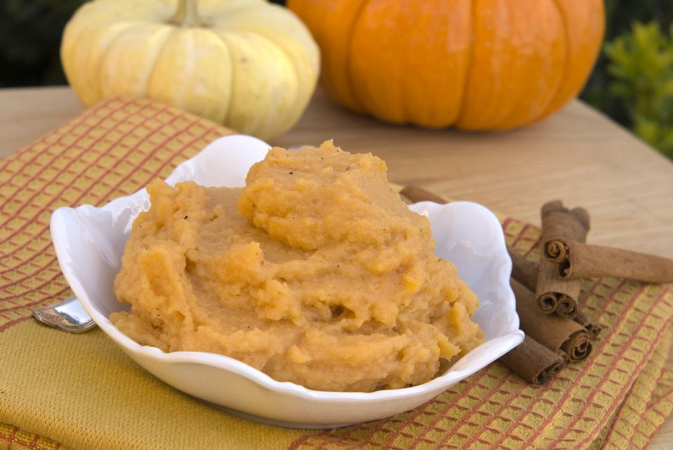 Mashed Pumpkin & Cinnamon Spice,