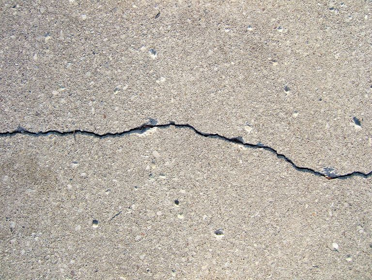 Concrete crack repairs