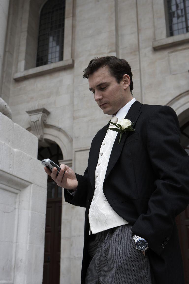 An unhappy bridegroom