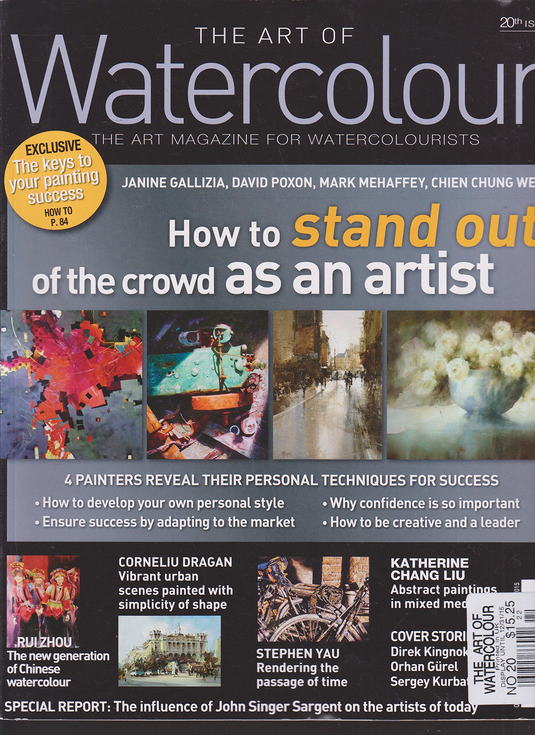 Watercolor artist magazine subscription - Watercolor Artist Magazine Subscription 20