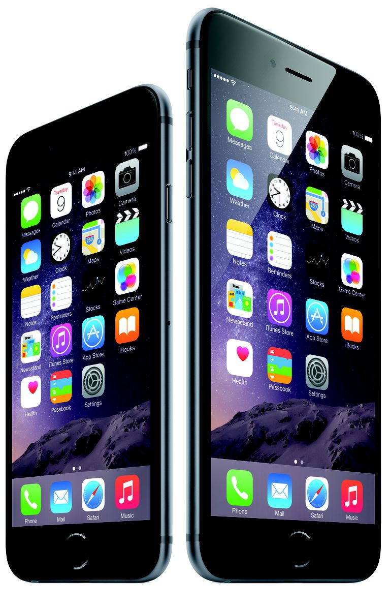 Screen Size And Resolution Differences Between IPhone 6 Plus