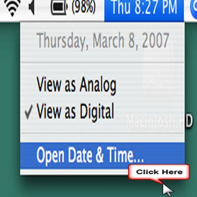 how to manually change the date and time on a mac. Black Bedroom Furniture Sets. Home Design Ideas