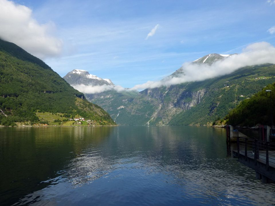 Geiranger, Norway - Port of call on Holland America Voyage of the Vikings