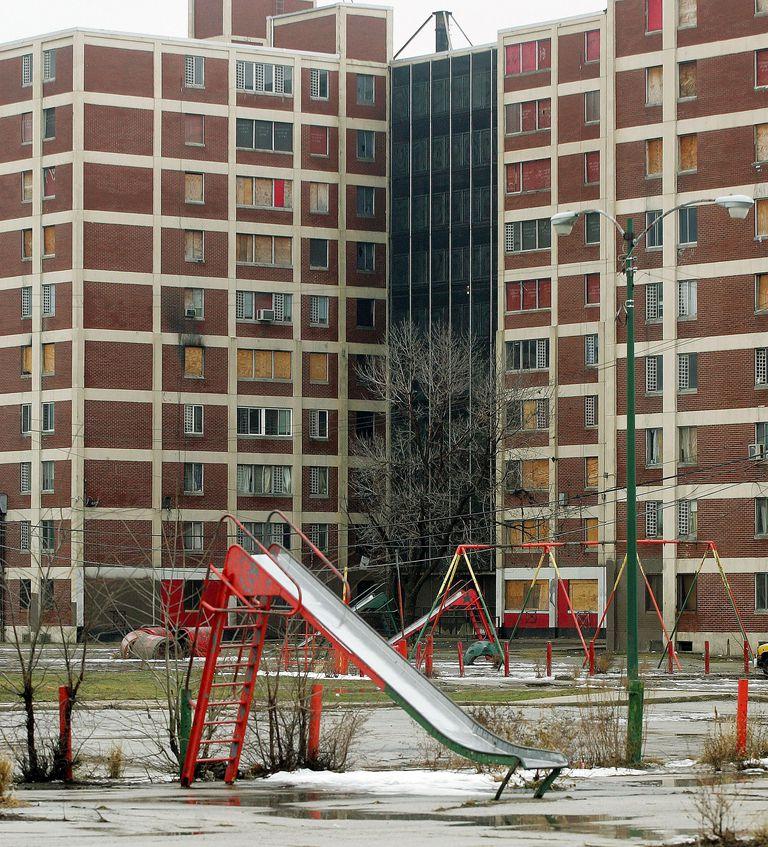 Cabrini-Green Public Housing