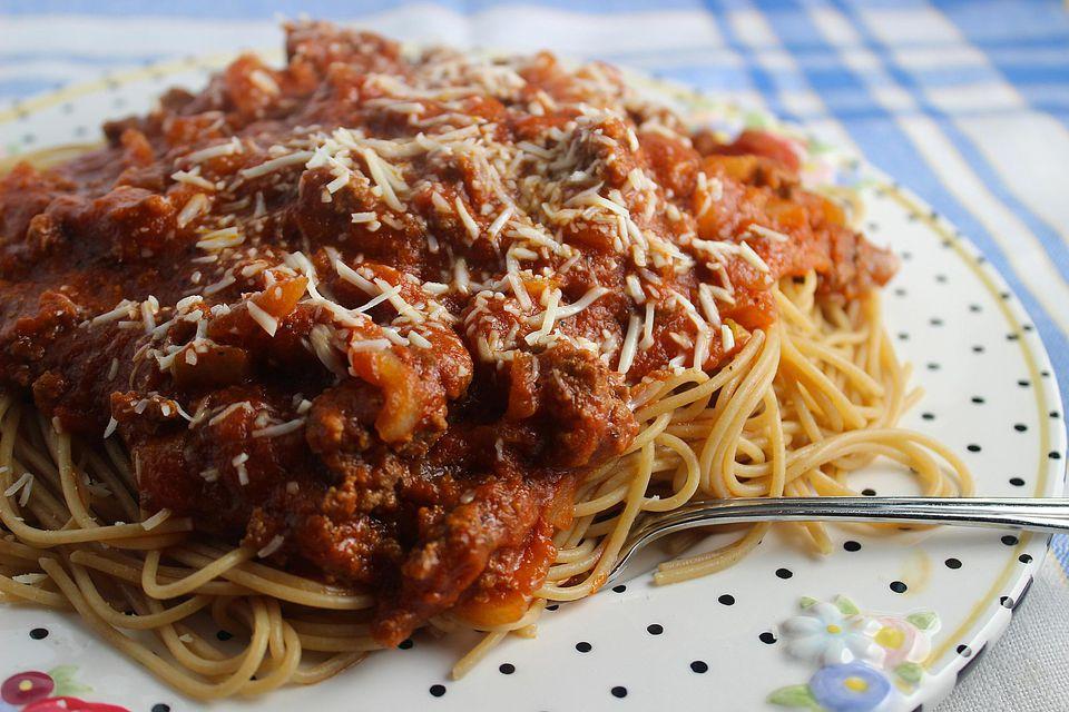 Beefy Spaghetti