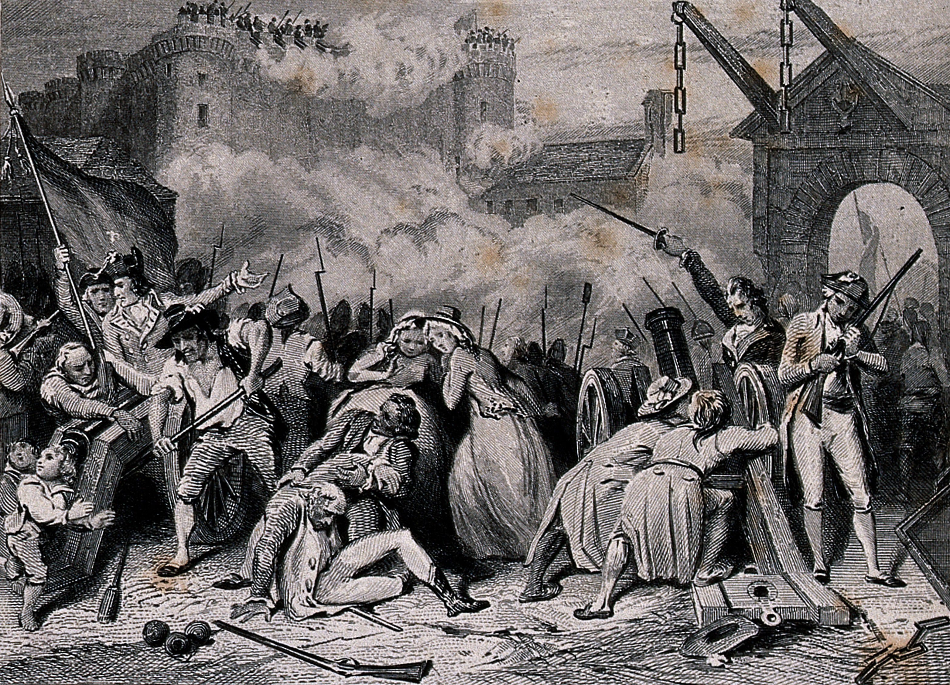 the bastille and the french revolution Simply put, the storming of the bastille was the start, the flashpoint, of the french  revolution, which lasted ten years from the storming on 14 july 1789 to 9.