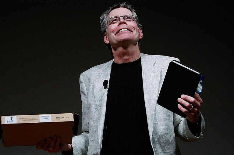 Stephen King, author of 'Children of the Corn,' reads from his new novella 'Ur' at the Morgan Library & Museum February 9, 2009 in New York City.