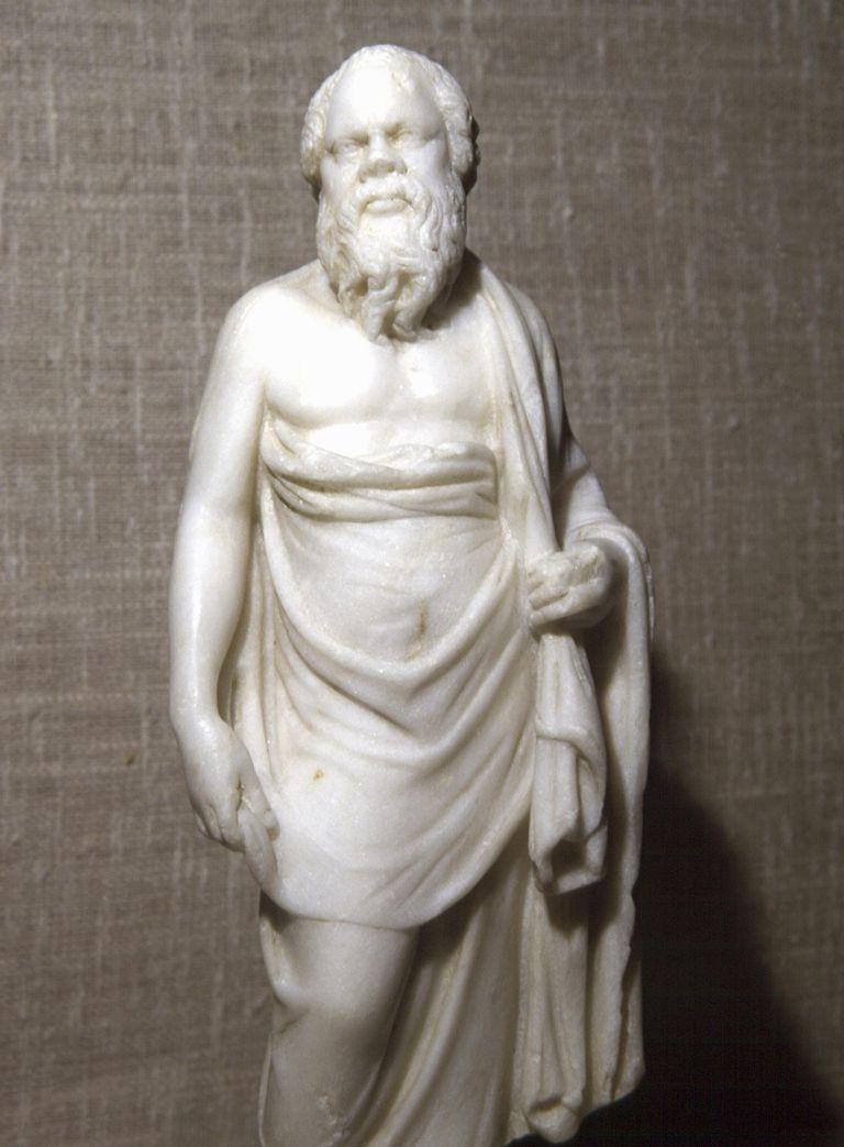 Socrates, Statue from Alexandria, 200 B.C.