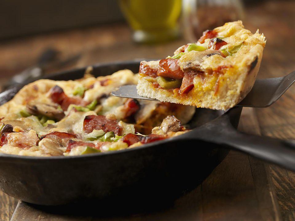 Deep Dish Pizza