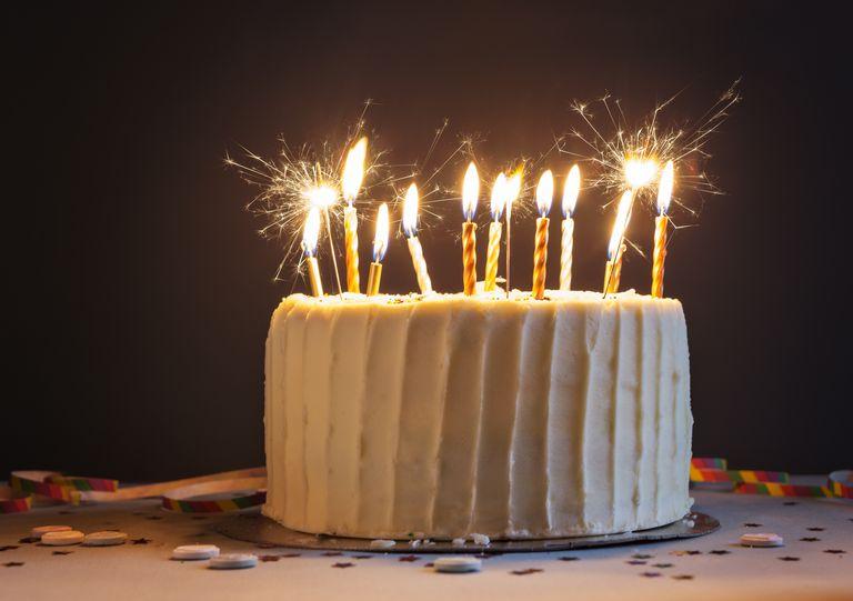 Are Sparklers Safe on Cakes