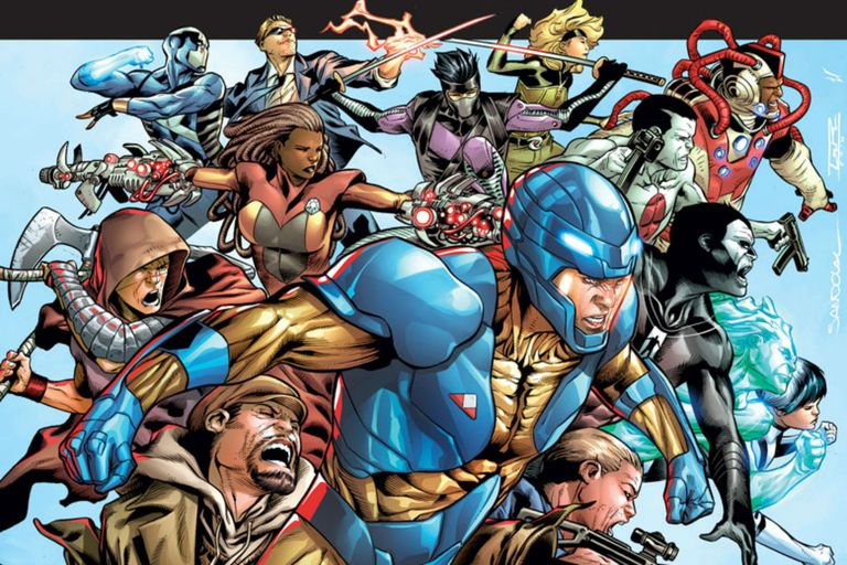Valiant Comic Book Superheroes