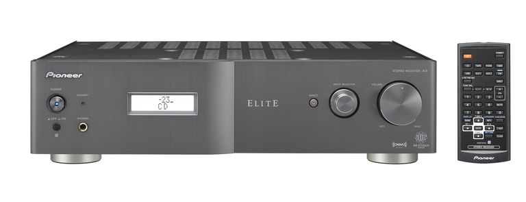 The front side of the Pioneer Elite SX-A9 stereo receiver