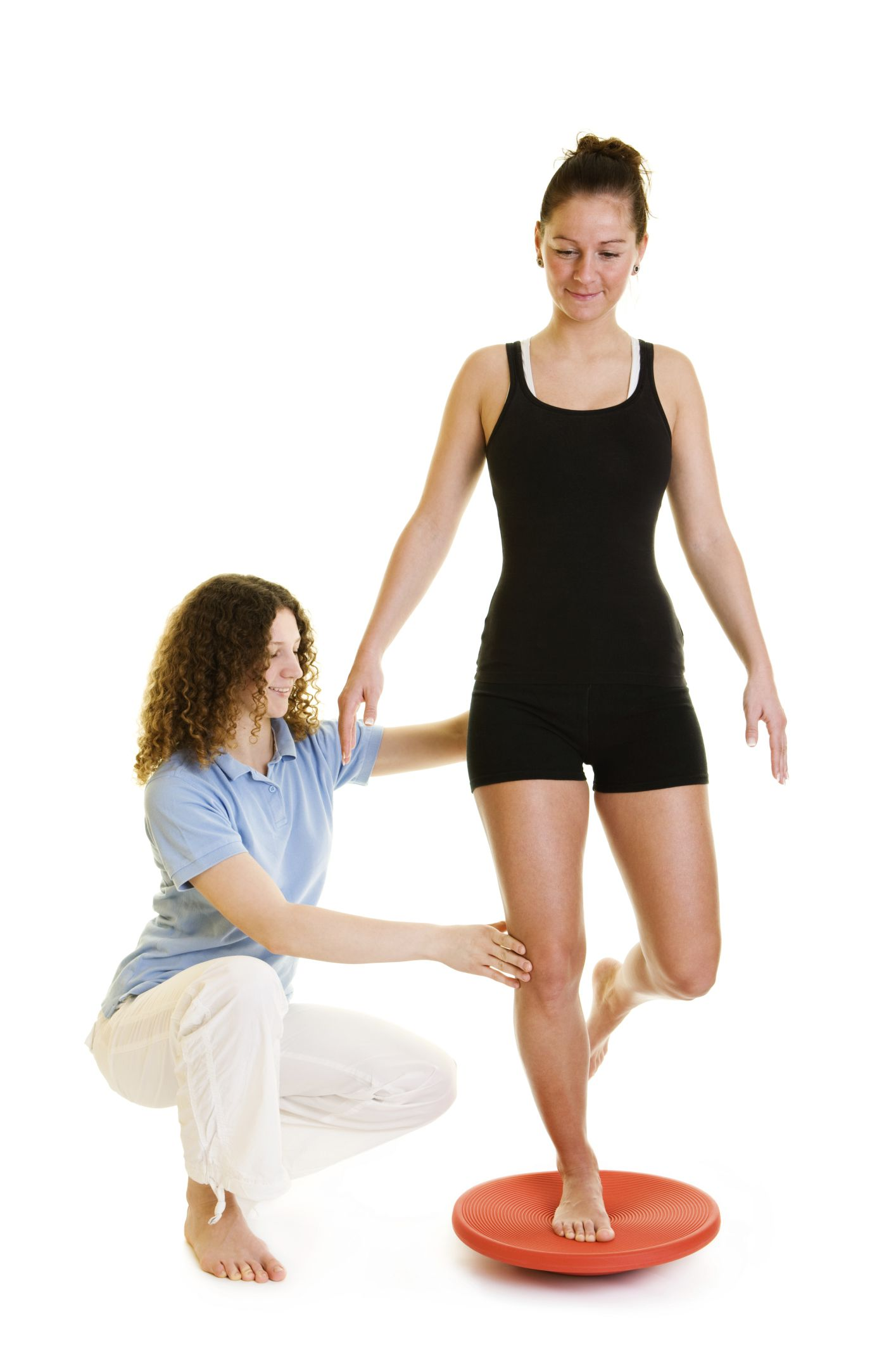 Ankle Rehab With a Balance or Wobble Board