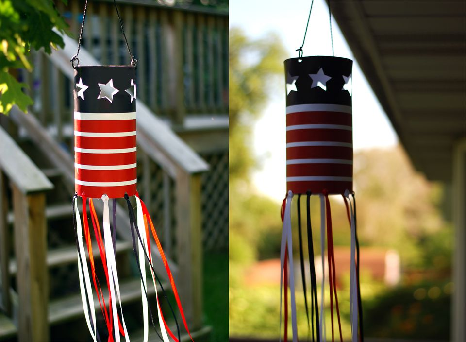 Fourth of July Paper Luminary