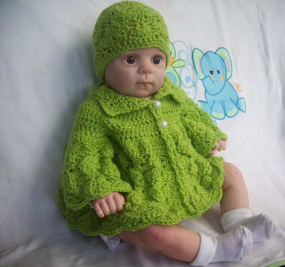 15 free baby sweater crochet patterns butterfly crochet baby sweater free pattern bankloansurffo Image collections