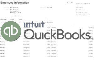 QuickBooks Employee & Payroll Reports