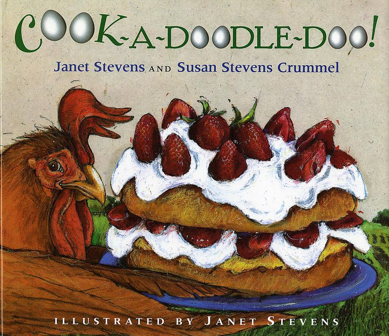 Cook-A-Doodle-Doo! - Picture Book Cover