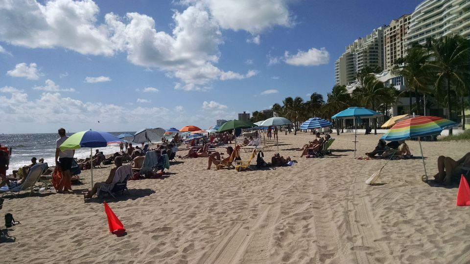 Gay Beach, Fort Lauderdale, Florida
