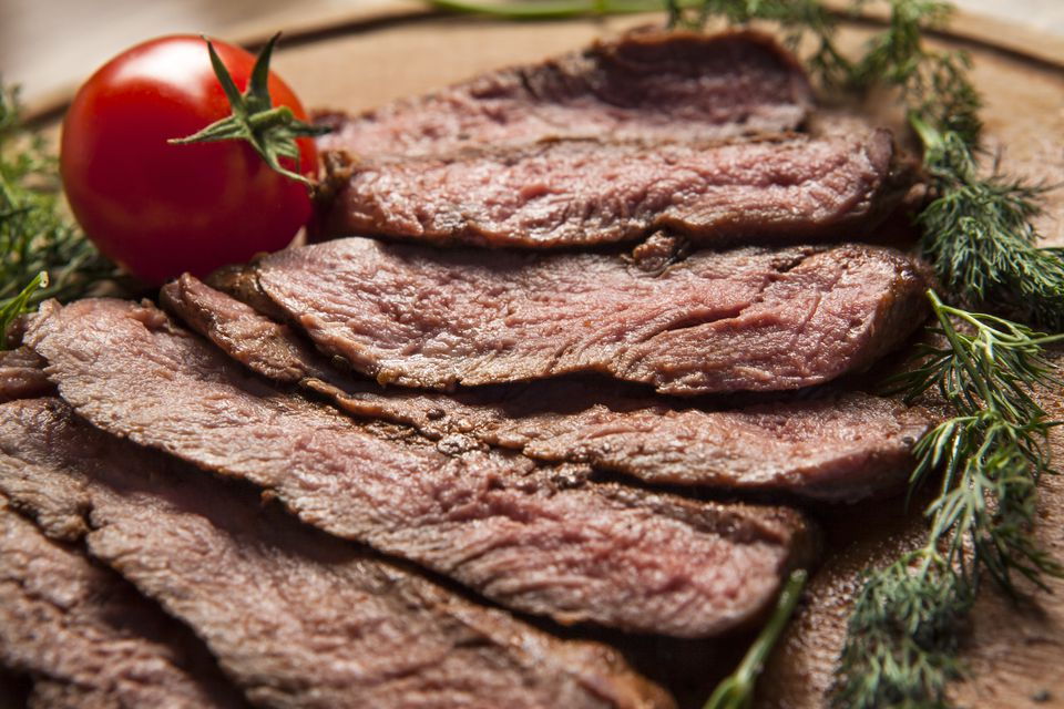 Sliced Broiled Steak