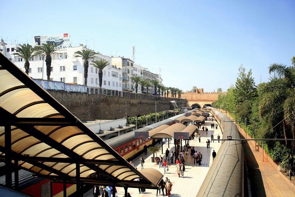 Rabat Main Train Station - Rabat, Morocco