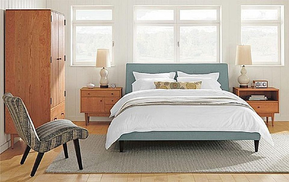 bedroom modern wsj the century mid