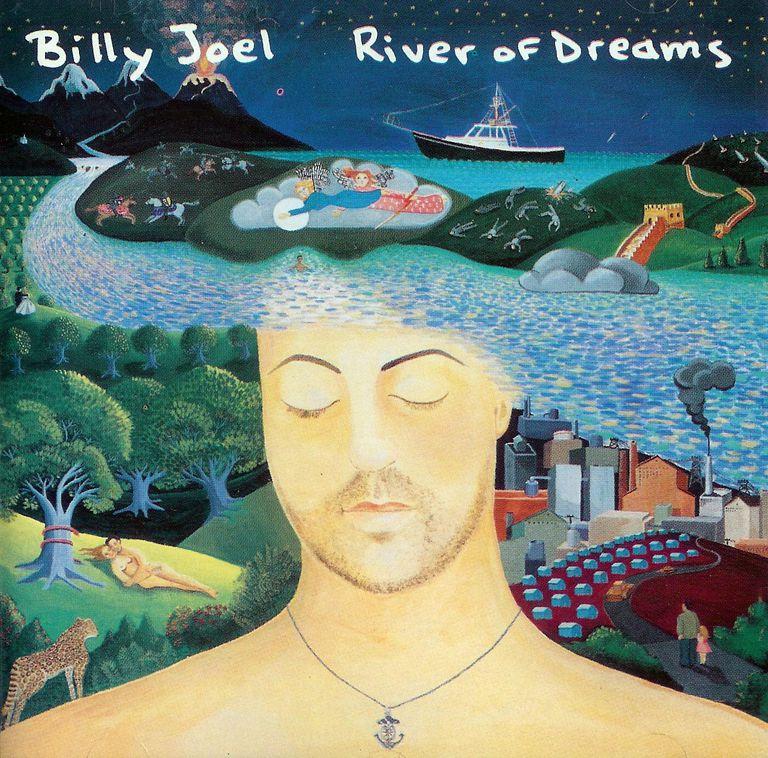 Billy Joel's River of Dreams album cover