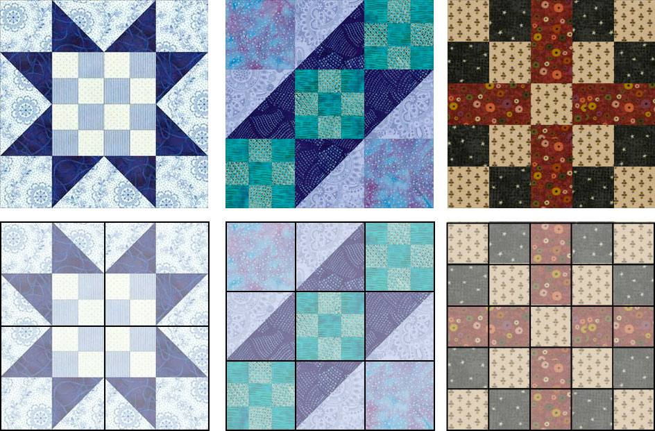 How to Resize a Quilt Block