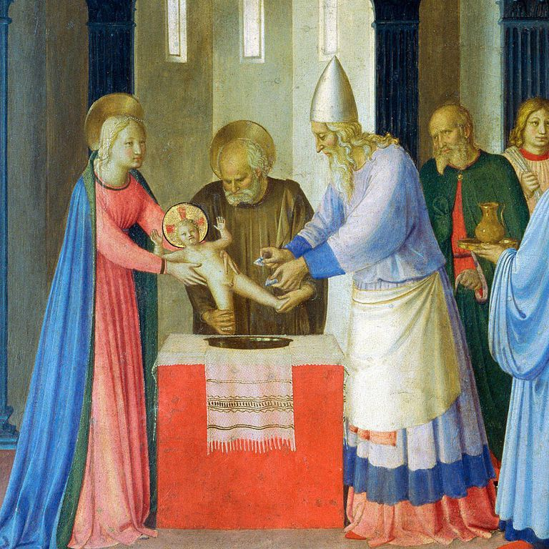 Circumcision of Jesus, by Fra Angelico