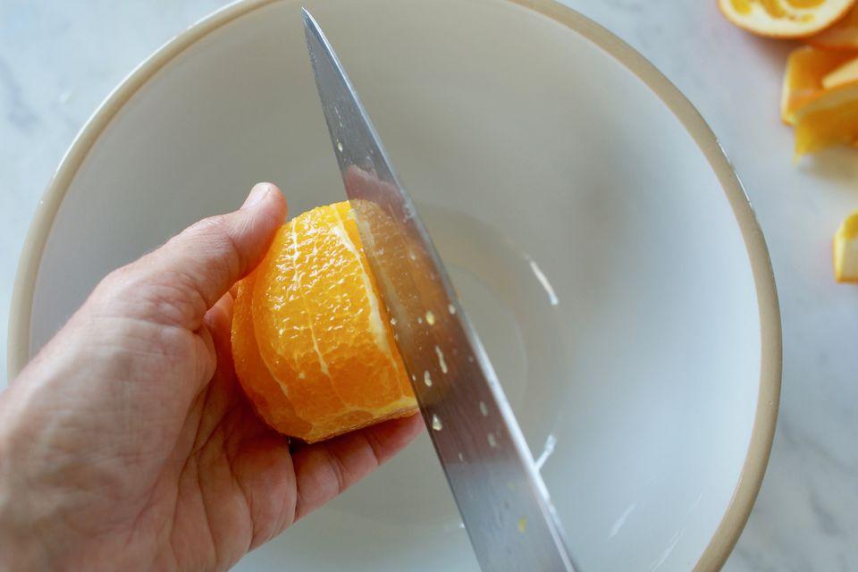 Citrus Supremes Step Four