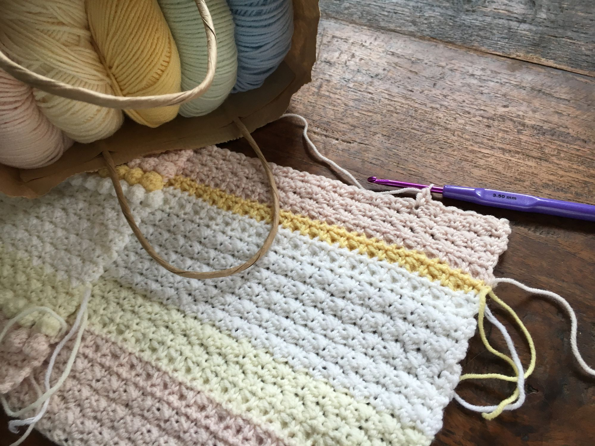 Books for all crochet skill levels learn how to crochet a beautiful blanket bankloansurffo Image collections