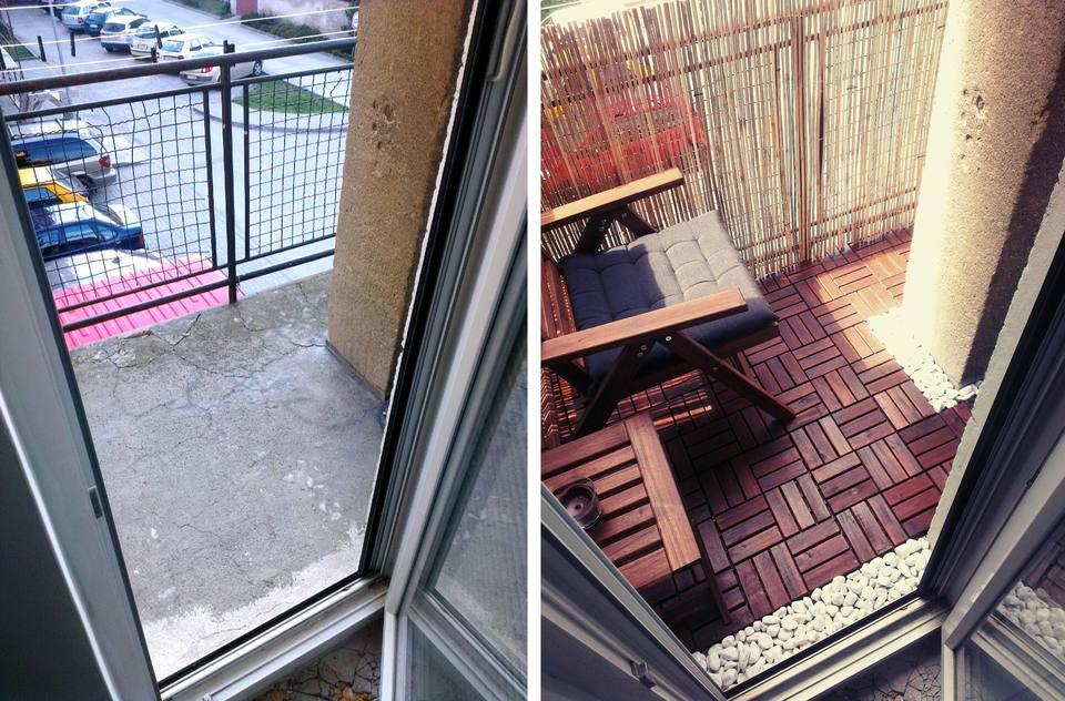 New Balcony Flooring Home Depot