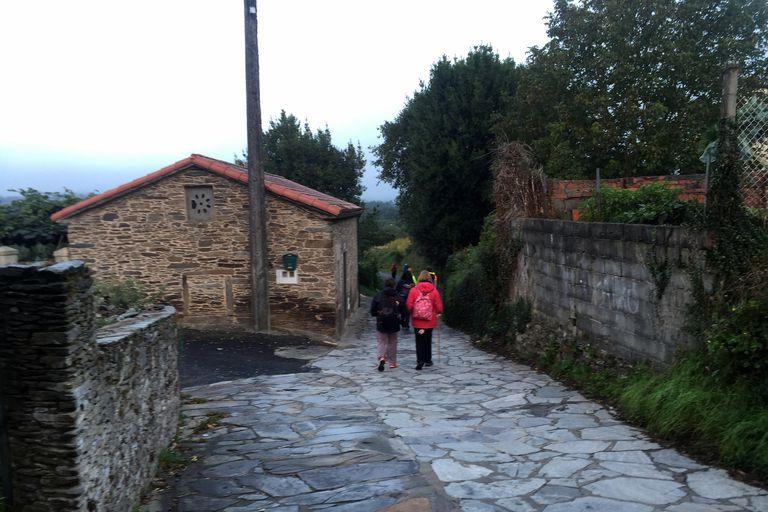 Camino - Leaving Arzua