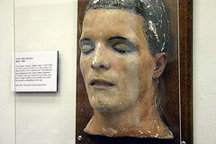 """Death Mask of """"Torso"""" Victim at the Cleveland Police Museum"""