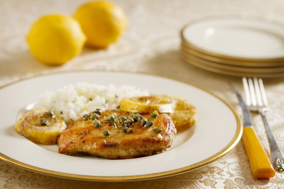 Easy Broiled Chicken with Lemon Butter Sauce
