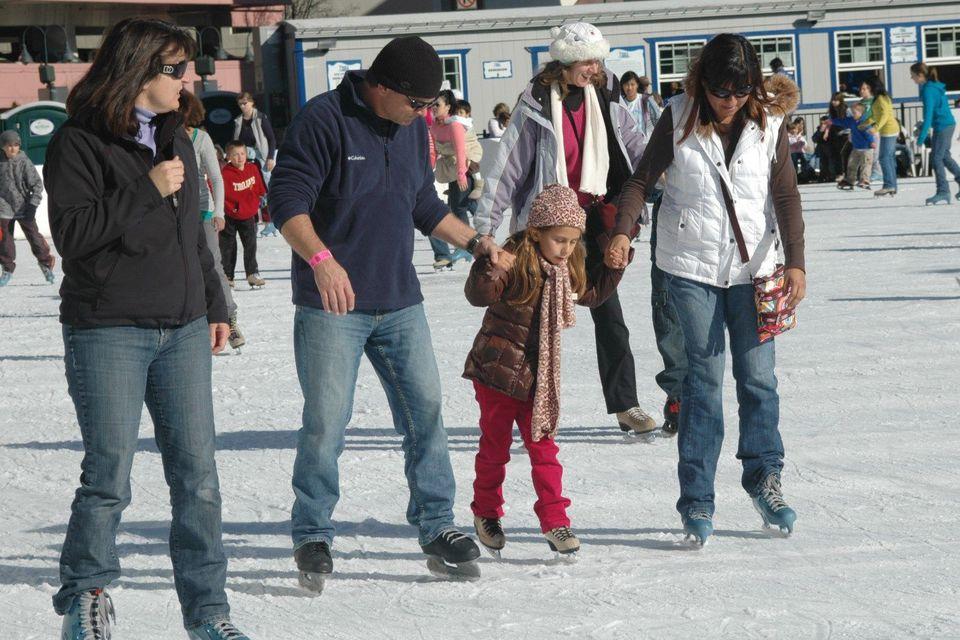 Reno iceskating rink