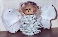 Pine Cone Angel Craft