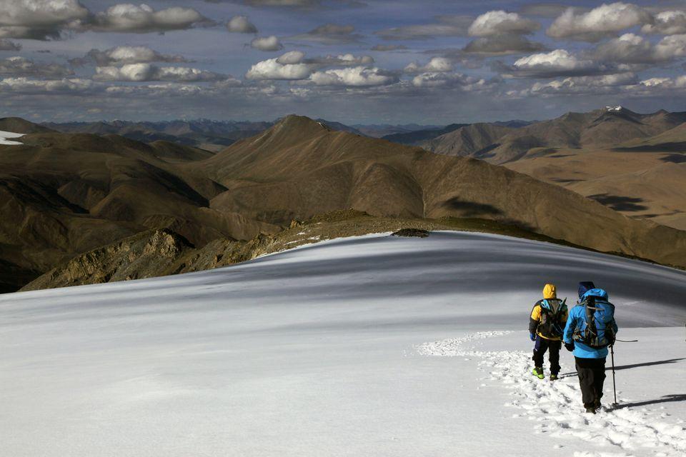 Mentok I, 6200m, high above Tso Mori Lake, Ladakh, India