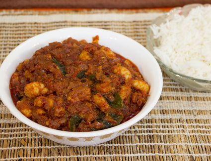 Goan recipes collection of dishes from goa india pickle style dry goan prawns forumfinder Gallery