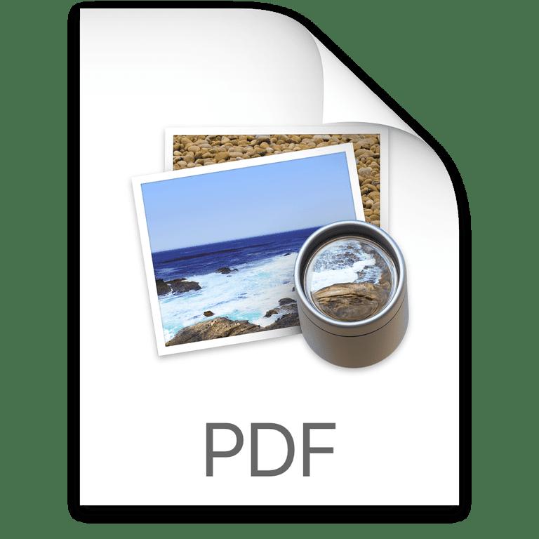 OS X Preview PDF Icon