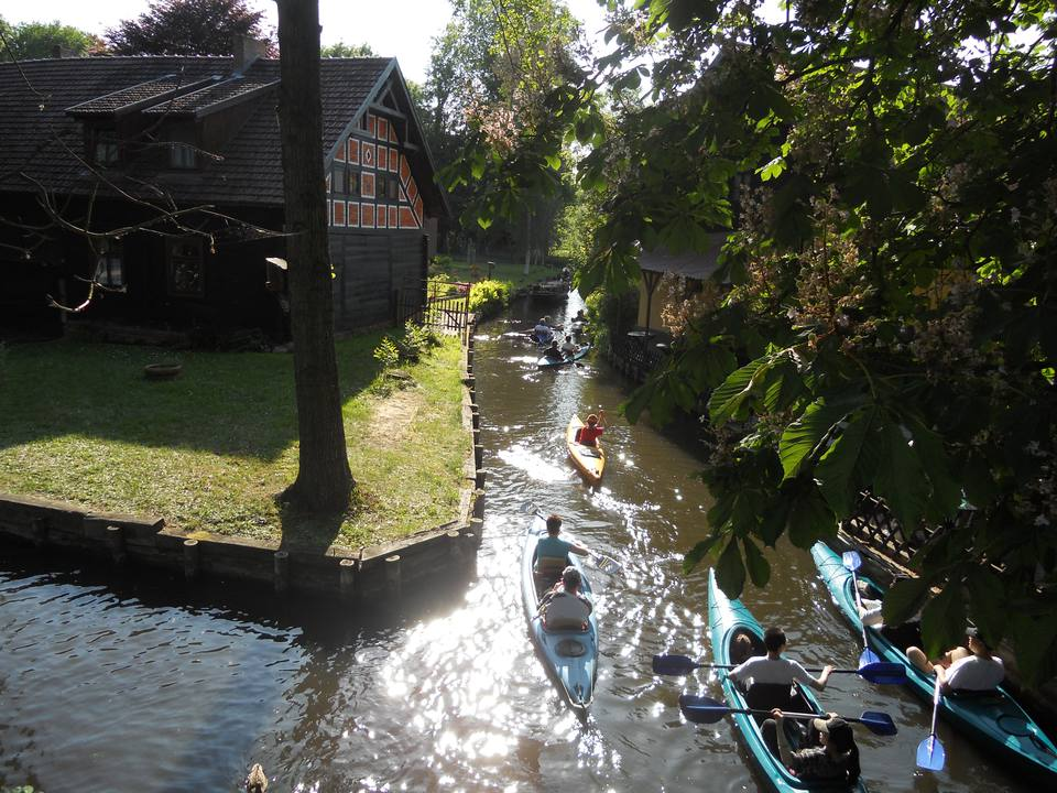 Canoeing in the Spreewald