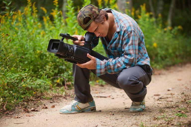 Young Man Shooting HD Video