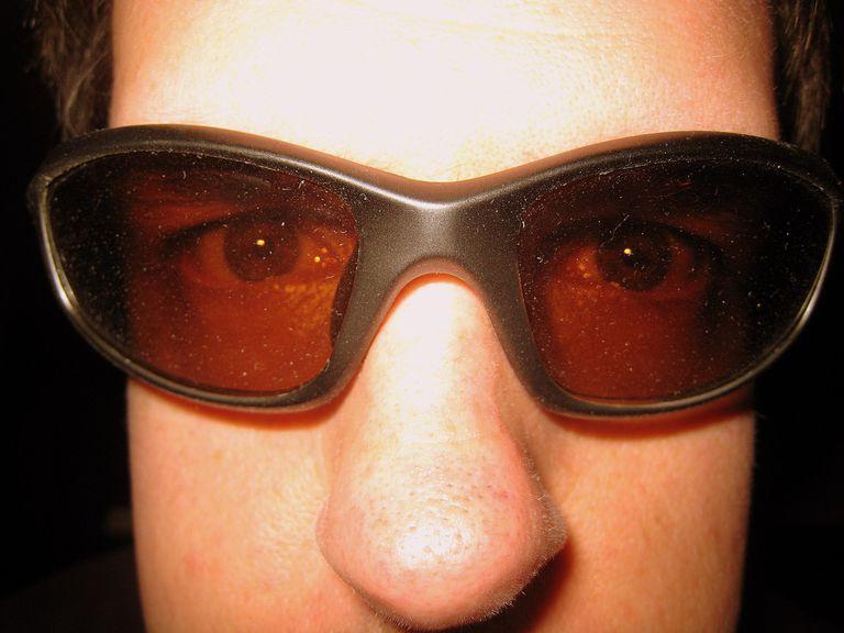 guy wearing sunglasses