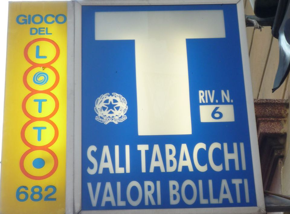 tabacchi sign photo